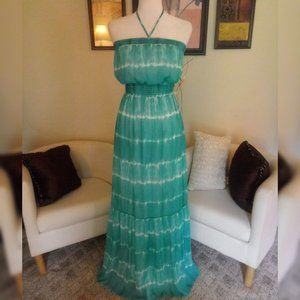 GUESS Fully Lined Maxi Dress Size XS